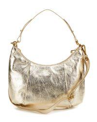 Elliott Lucca | Intreccio Metallic Hobo Bag | Lyst
