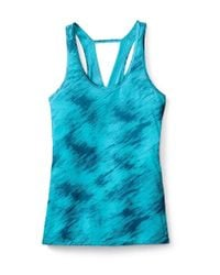 Smartwool - Blue 150 Abstract Cutout Racerback Tank - Lyst