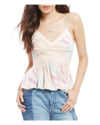 Free People | Multicolor Endless Fun Printed Cami | Lyst
