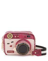 Betsey Johnson | Multicolor Close Up Camera Cross-body Bag | Lyst