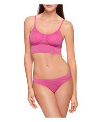 B.tempt'd - Pink B.tempt ́d By Wacoal B.splendid Bralette - Lyst
