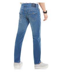 True Religion - Blue Geno Flap-pocket Corduroy Jeans for Men - Lyst