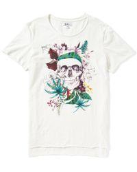 William Rast - White Julian Short-sleeve Graphic T-shirt - Lyst