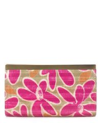 Patricia Nash | Multicolor Striped Daisy Collection Cauchy Wallet | Lyst