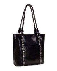 Patricia Nash - Black Vintage Studded Hardware Collection Rena Tote - Lyst