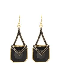Vince Camuto - Metallic Statement Drop Earrings - Lyst