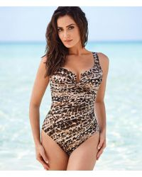 Miraclesuit - Brown Wild Side Escape Underwire Enhancing One-piece - Lyst