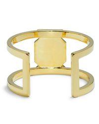 Vince Camuto - Metallic Pav Crystal T Cuff Bracelet - Lyst