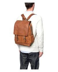 Frye - Brown Oliver Backpack for Men - Lyst