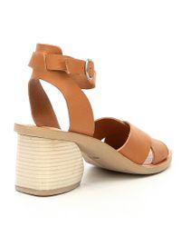 Dolce Vita - Brown Roman Block Heel Sandals - Lyst