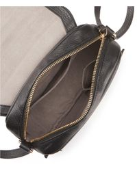 Vince Camuto - Black Stina Flap Cross-body Bag - Lyst