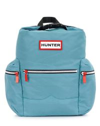 Hunter - Blue Original Nylon Mini Backpack - Lyst