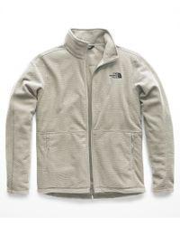 The North Face - Gray Texture Cap Rock Full Zip Top for Men - Lyst