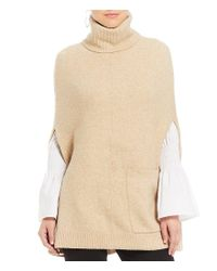 Antonio Melani - Natural Luke Poncho Sweater - Lyst