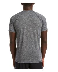 18b41167 Lyst - Nike Big & Tall Dri-fit Heather Hydroguard Upf 40 Rashguard ...