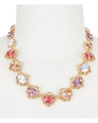 Carolee - Multicolor Spring Bouquet Collar Necklace - Lyst