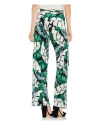 Vince Camuto - Green Tropical Jungle Palm Print Pull On Pant - Lyst