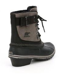 Sorel | Black ® Women ́s Winter Fancy Lace Ii Waterproof Boots | Lyst