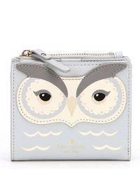 Kate Spade - Multicolor Star Bright Owl Adalyn Bifold Wallet - Lyst