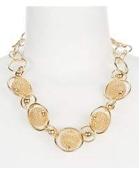 Kate Spade - Metallic Bead & Bauble Color Statement Necklace - Lyst