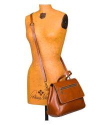 Patricia Nash - Brown Veg Tan Collection Molina Convertible Satchel - Lyst