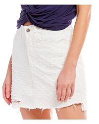 Gianni Bini - White Tori Clip Dot Skirt - Lyst