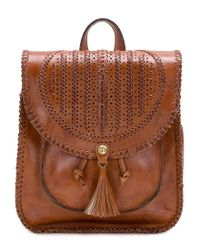 Patricia Nash - Brown Braided Perf Collection Jovanna Backpack - Lyst