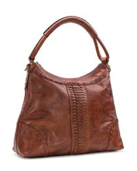 Patricia Nash - Brown Burnished Braid Collection Carini Hobo Bag - Lyst