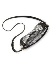 Vince Camuto - Black Rizo Flap Saddle Bag - Lyst