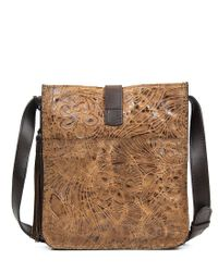 Patricia Nash - Brown Glazed Floral Collection Venezia Cross-body Bag - Lyst