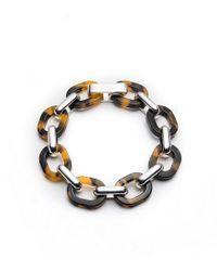 Lauren by Ralph Lauren - Metallic Tortoise Link Bracelet - Lyst