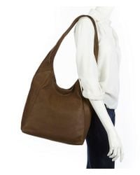 Lucky Brand - Brown Patti Hobo Bag - Lyst