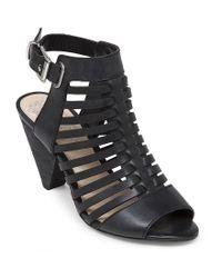 Vince Camuto - Black Elrita Huarache Sandals - Lyst