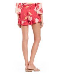 Billabong - Red Sun Skipper Shorts - Lyst