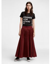 DKNY - Black #dxkxnxyx 'designers Know Nothing Yet' Tee - Lyst