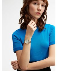 DKNY - Metallic Minetta Gold-tone Watch - Lyst
