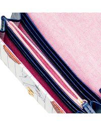 Dooney & Bourke - Multicolor Mlb Cubs Daphne Crossbody Wallet - Lyst
