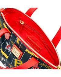 Dooney & Bourke - Red Ruby Mini Crossbody Satchel - Lyst