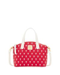 Dooney & Bourke - Red Philadelphia Phillies Ruby Mini Crossbody Satchel - Lyst