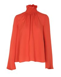 Dorothee Schumacher - Red Woman In Love Blouse - Lyst