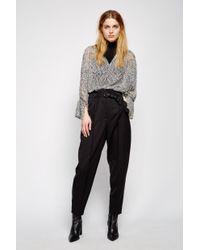 Dorothee Schumacher - Black Cool Ambition High Waisted Relaxed Fit Pants - Lyst