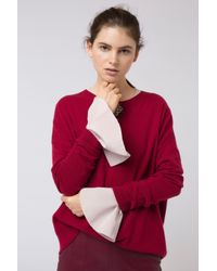 Dorothee Schumacher - Red Beauty Boarding Pullover 1/1 - Lyst