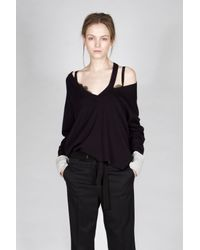 Dorothee Schumacher - Black Elegant Ease Pullover 1/1 - Lyst