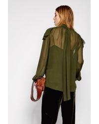 Dorothee Schumacher - Green Weightless Finesse Blouse 1/1 - Lyst