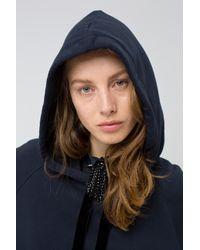 Dorothee Schumacher - Blue Cosy Casual Hoodie Sweatshirt 1/1 - Lyst