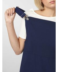 Dorothy Perkins - Blue Navy Buckle Detail Maxi Dress - Lyst