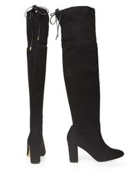 Dorothy Perkins - Black 'kassandra' Boots - Lyst