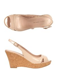 Dorothy Perkins - Multicolor Nude 'voxy' Sling Back Wedges - Lyst