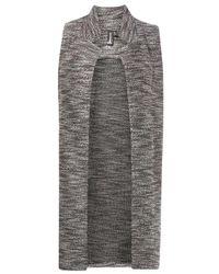 Dorothy Perkins - Multi Black Knit Jacket - Lyst