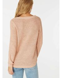 Dorothy Perkins - Multicolor Only Rose 'geena' Knitted Jumper - Lyst